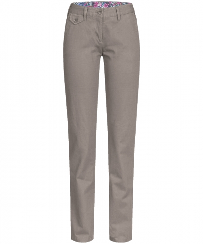 Damen-Chino Regular Fit Casual