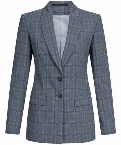 Damen-Langblazer Regular Fit Premium