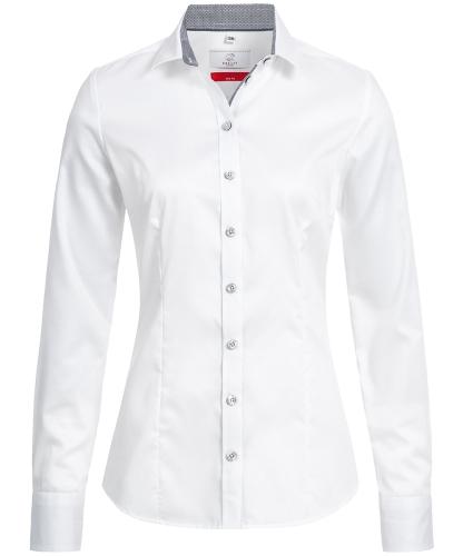 Damen-Bluse 1/1 Slim Fit Premium