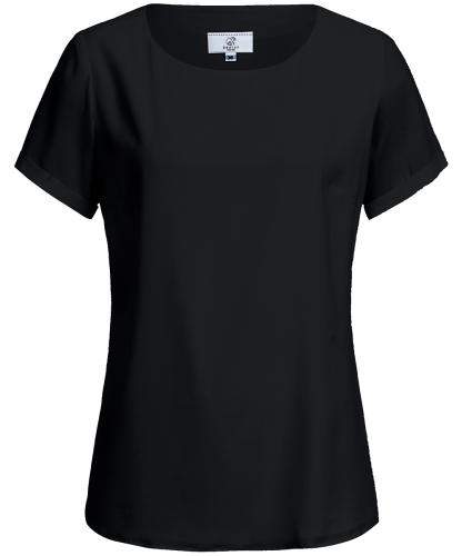Chiffon-Bluse 1/4 Regular Fit