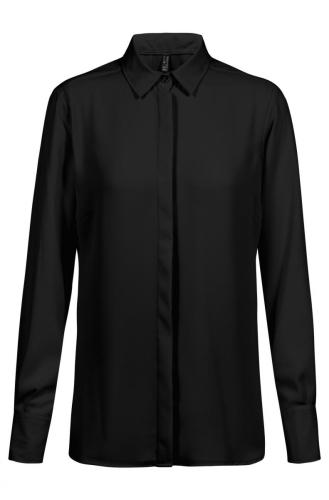 Chiffon-Bluse 1/1 Regular Fit