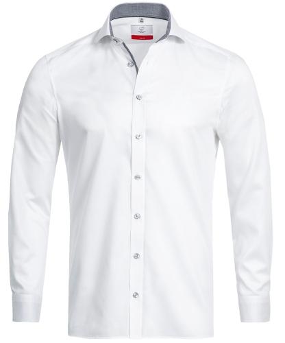 Herren-Hemd 1/1 Slim Fit Premium